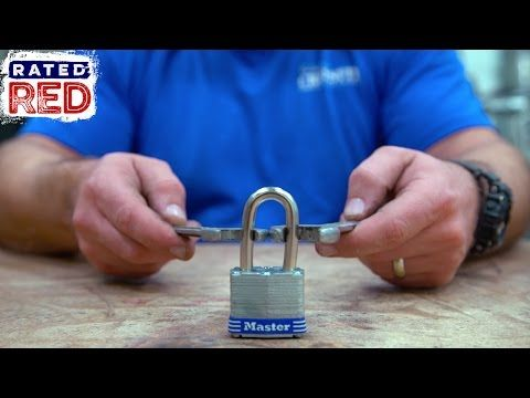 How To Break A Padlock With Wrenches Man Hacks Watch How Simple You Can Get Tear Open The Lock With Ordinary Instruments We Hacks Padlock Survival Prepping