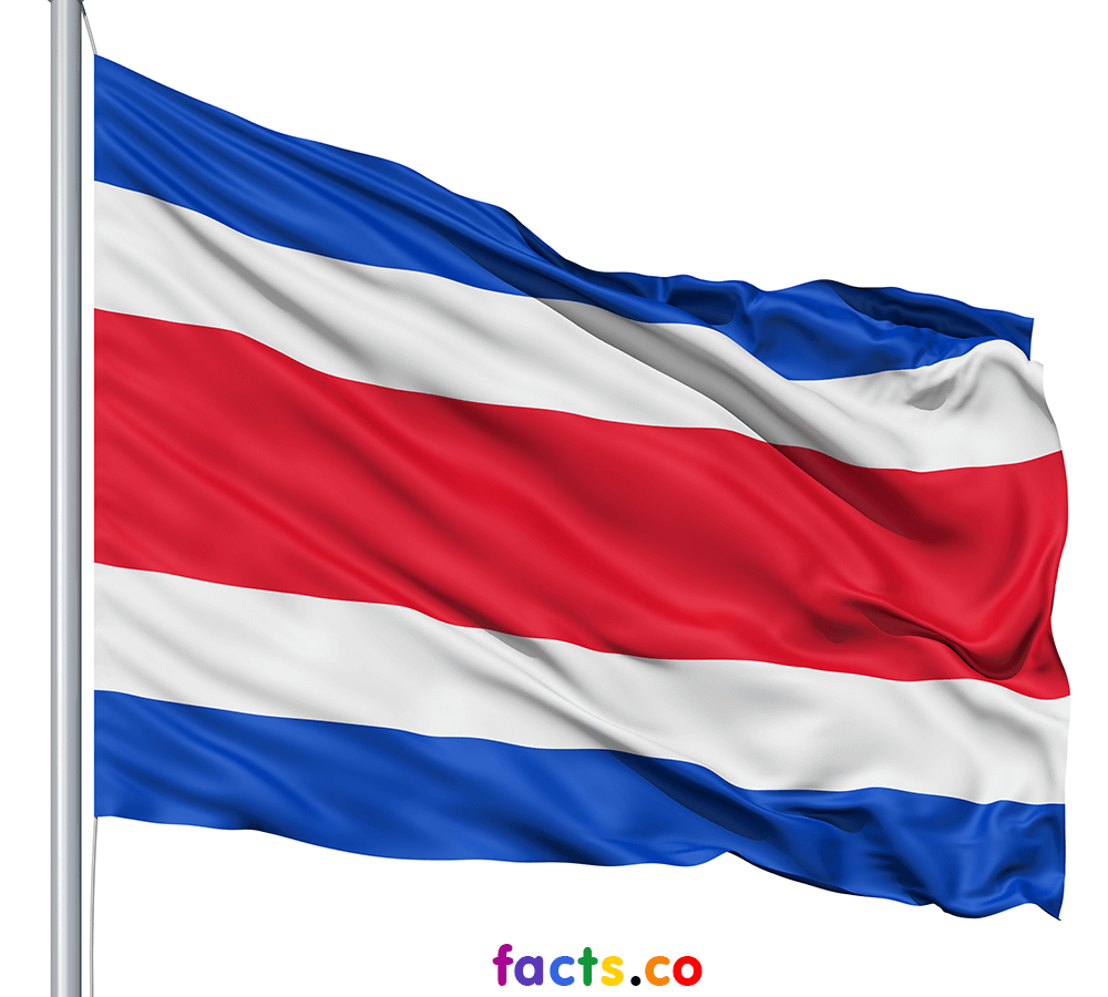 Costa Rica Flag Colors Costa Rica Flag Meaning History Flag Colors Flag Costa Rica Flag