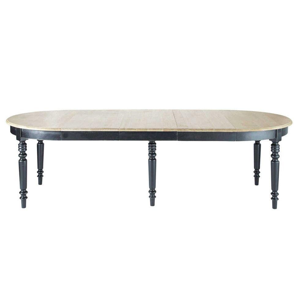Table manger ronde extensible 6 14 personnes l125 325 for Table extensible 16 personnes