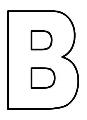 Upper Case Alphabet Letters Capital B Letter Lettering Alphabet Printable Alphabet Letters Free Printable Alphabet Letters