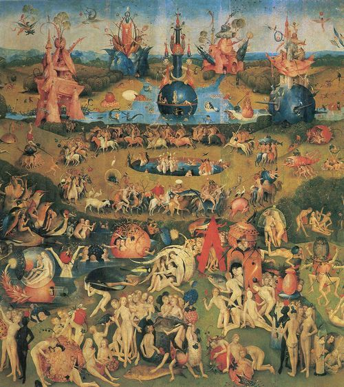 Bosch Hieronymus Der Garten Der Luste Hieronymus Bosch Paintings Renaissance Paintings Garden Of Earthly Delights