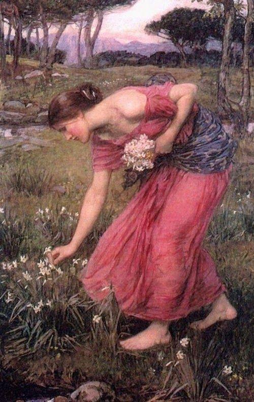 John William Waterhouse 'Narcissus'