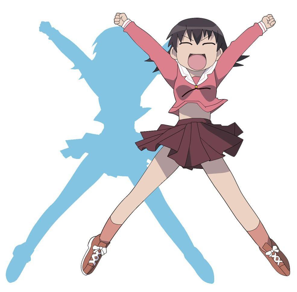 Tomo Takino From Azumanga Daioh. She Is Super Hyper, And