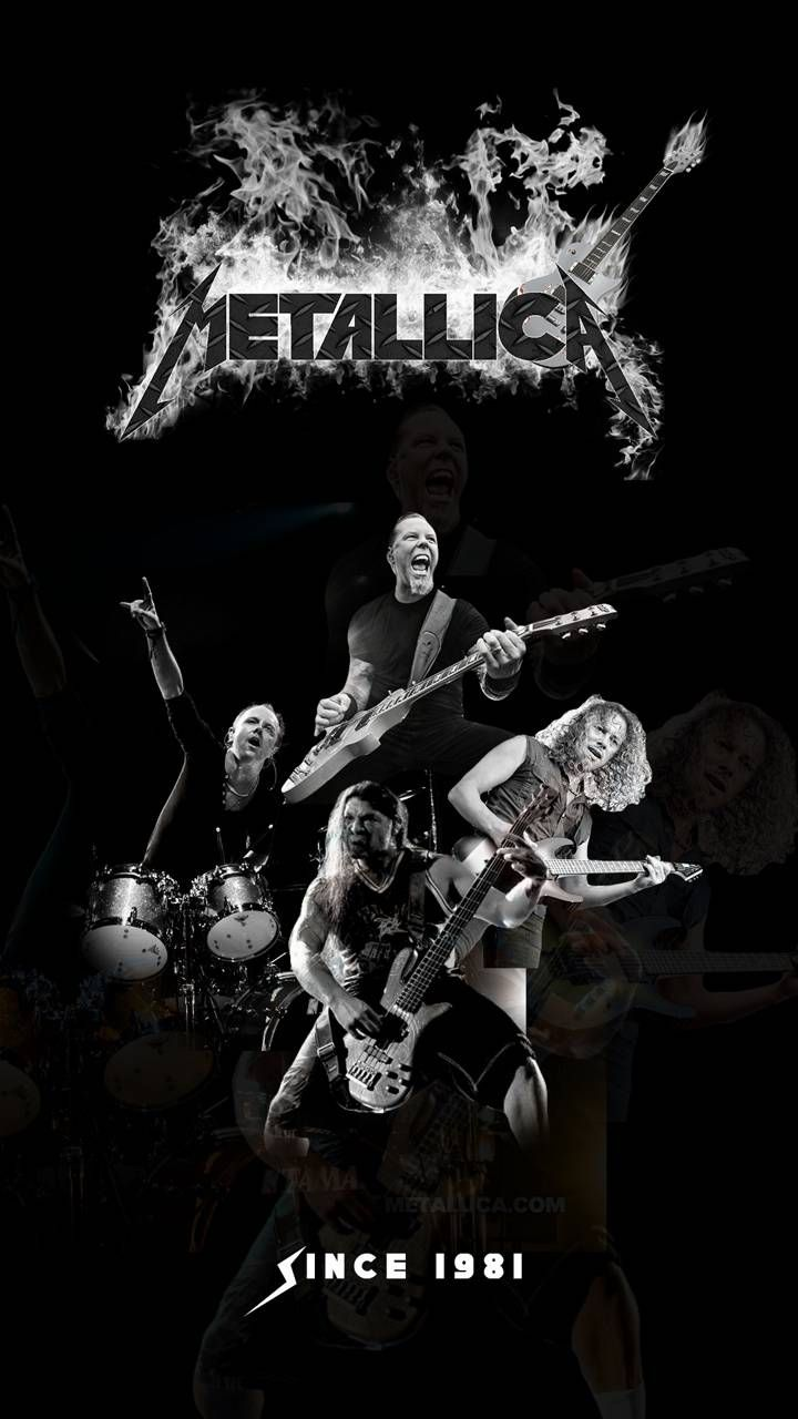 Metallica BW wallpaper by Jazzlaw117 - 78 - Free on ZEDGE™