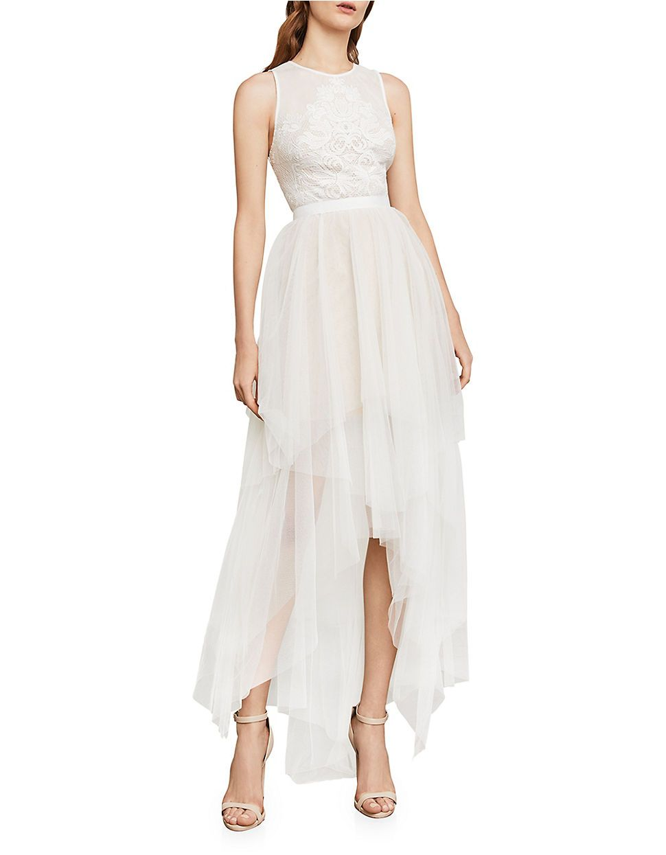 Women Evening Gowns Riese High Low Halter Gown Hudsons Bay