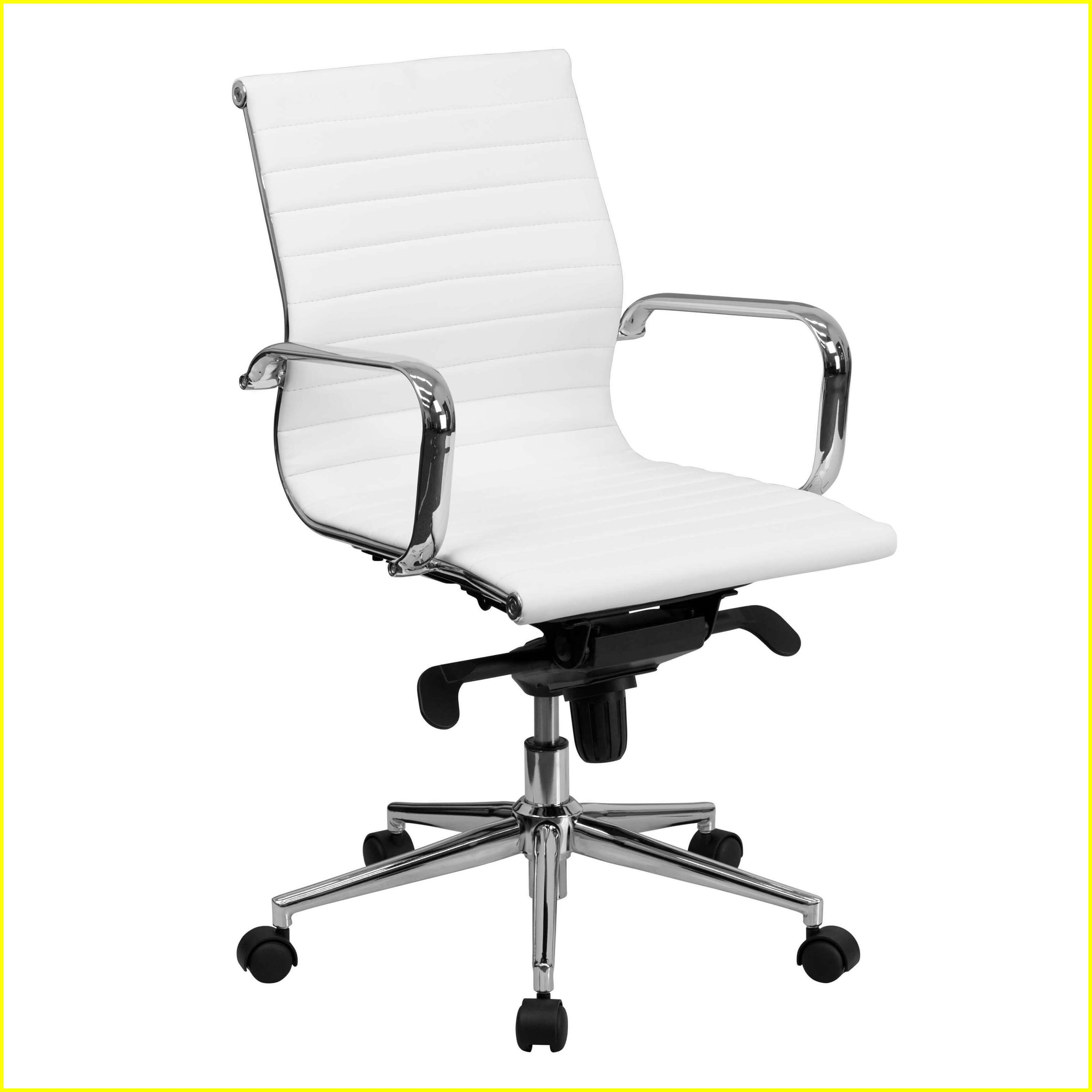 50 Reference Of Cool Desk Chair No Wheels In 2020 Leather Office Chair White Office Chair Conference Chairs