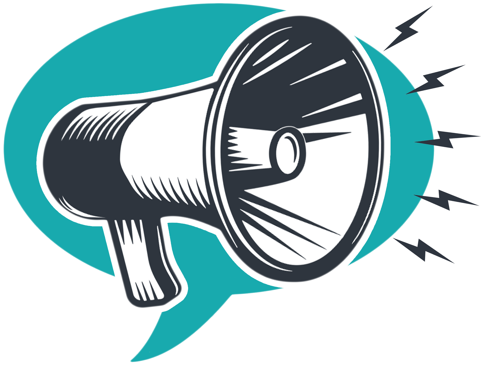 Image result for action icon megaphone Elementary
