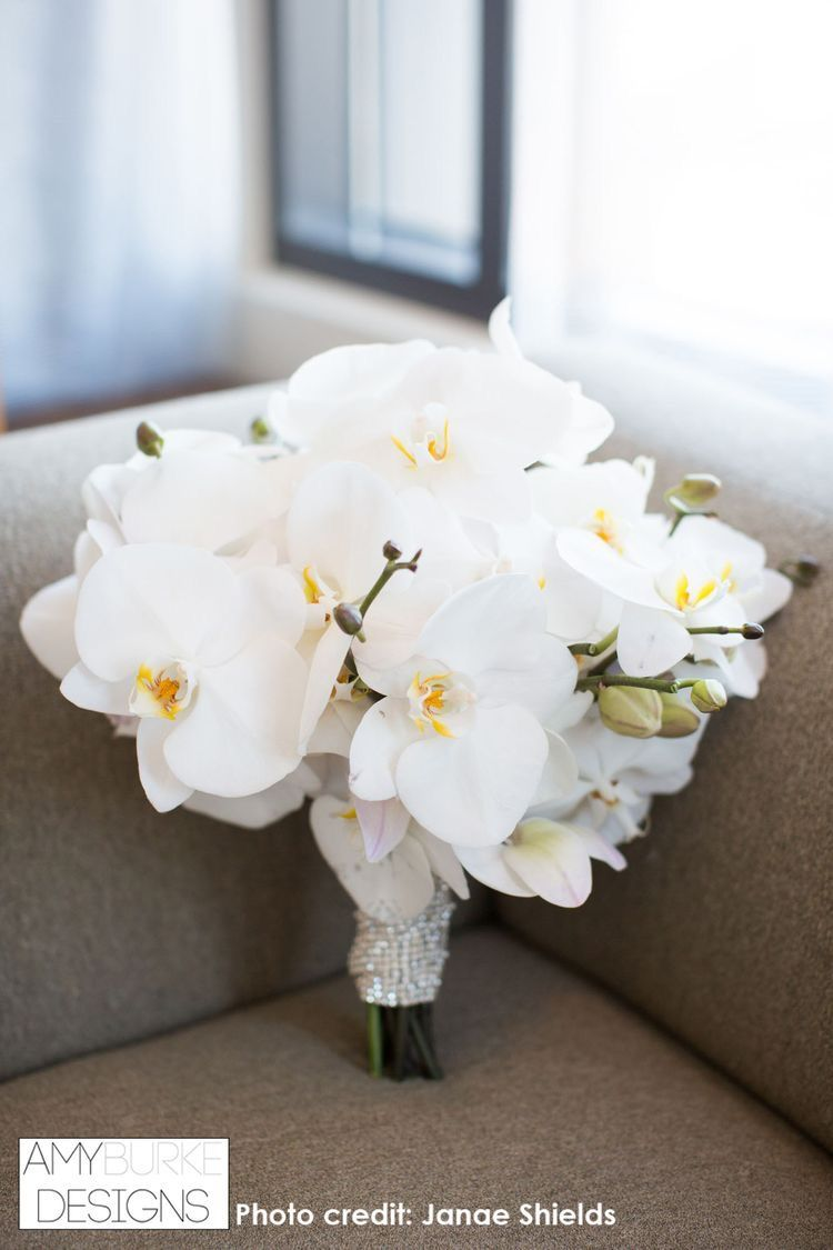 Pin By Ka Wade On Orchid Table Flower Girl Bouquet Orchid Bouquet Wedding Orchid Bridal Bouquets White Bridal Bouquet