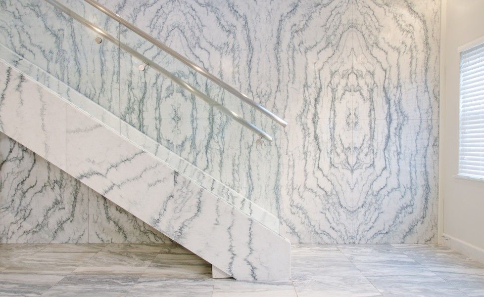 Corp Main Office Entry Interiors Marble Marble Tiles