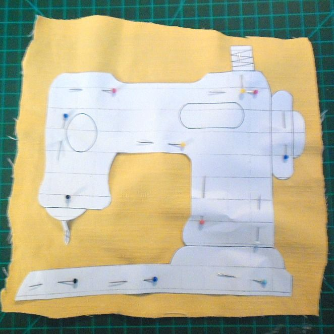 Sewing Machine Applique Templates | Applique | Pinterest | Machine ...