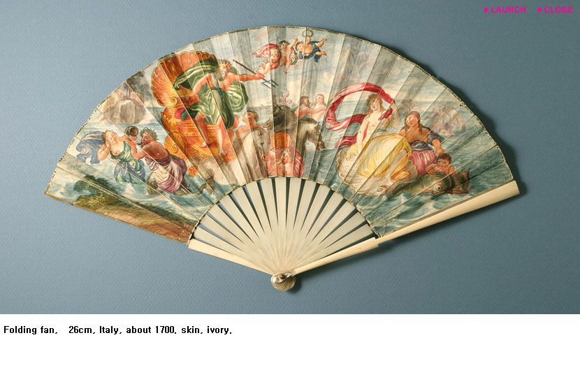 """Lots, and lots and lots of fans...  """"Italy circa 1700"""""""