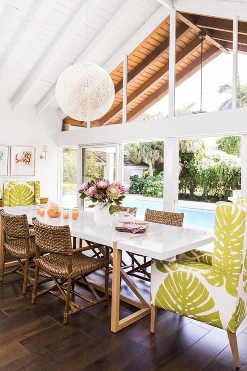 Beachhomeinteriors dining in 2018 pinterest casas for Decoracion de casas brasilenas