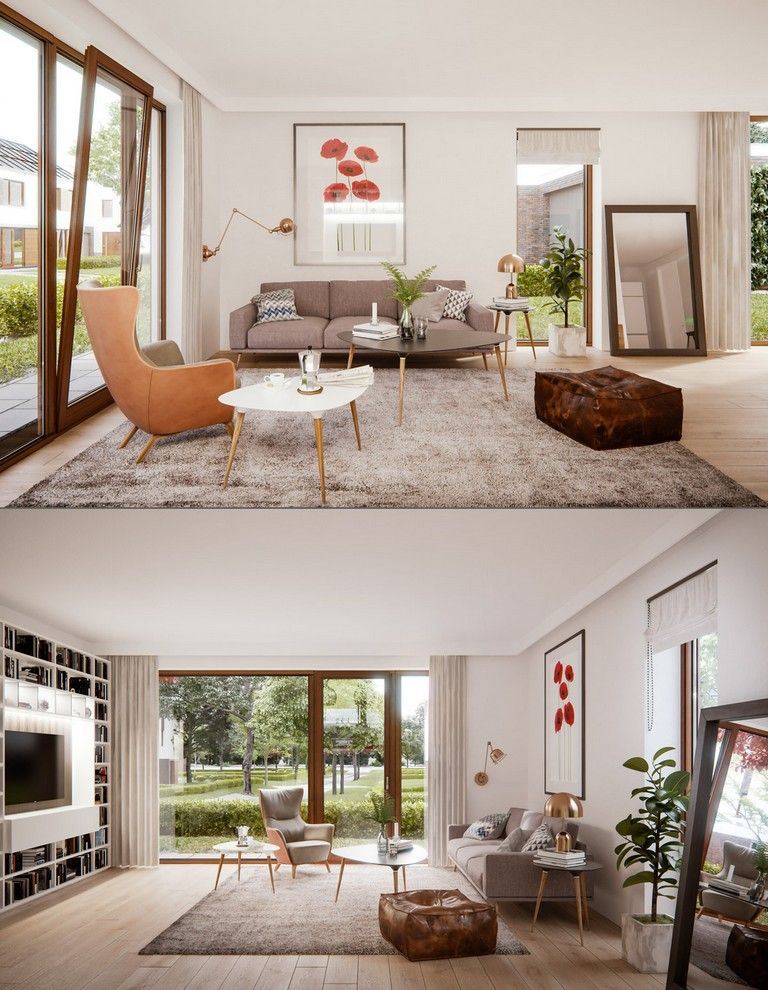 Best 30 Luxury Mesmerizing Mid Century Modern Living Rooms And 640 x 480