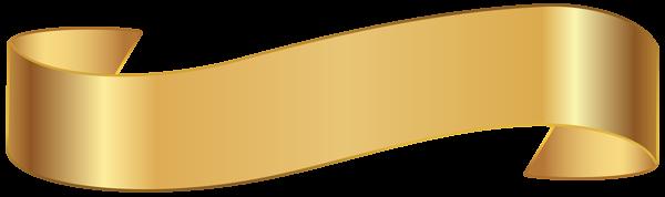 Banner Gold Png Transparent Image In 2020 Free Clip Art Clip Art Banner