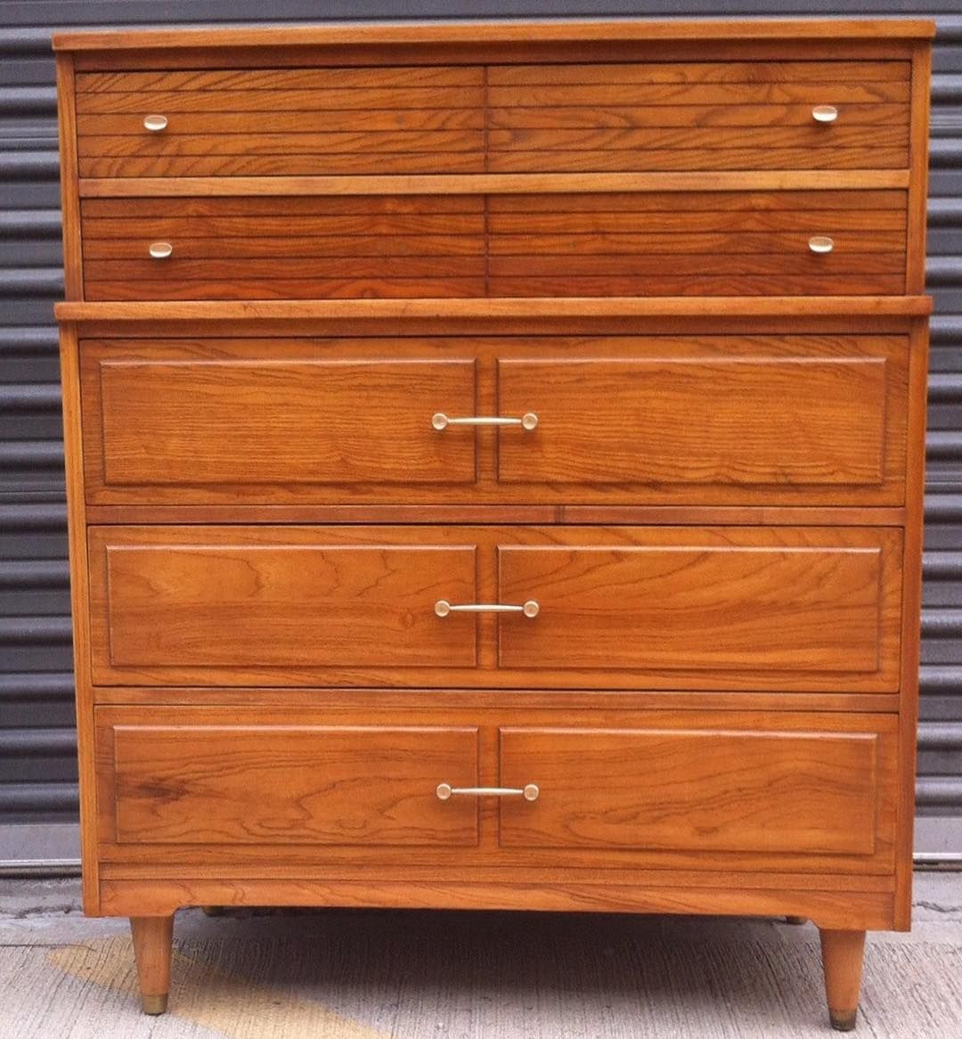 Best For Sale Mid Century Modern Tall Dresser By La Period 640 x 480