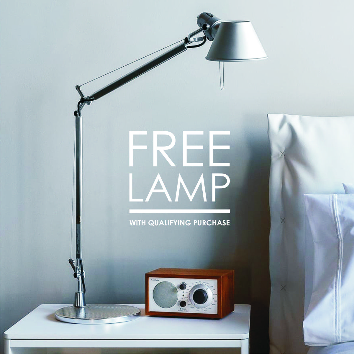 Get A Free Tolomeo Micro Table Lamp From Artemide With Qualifying Purchase While Supplies Last Giveaway Modern Lighting Home Decor Styles Modern Interior