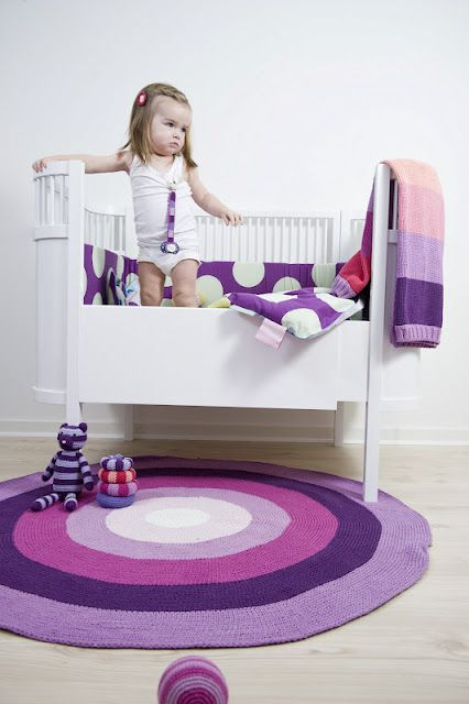 Purple baby girl.