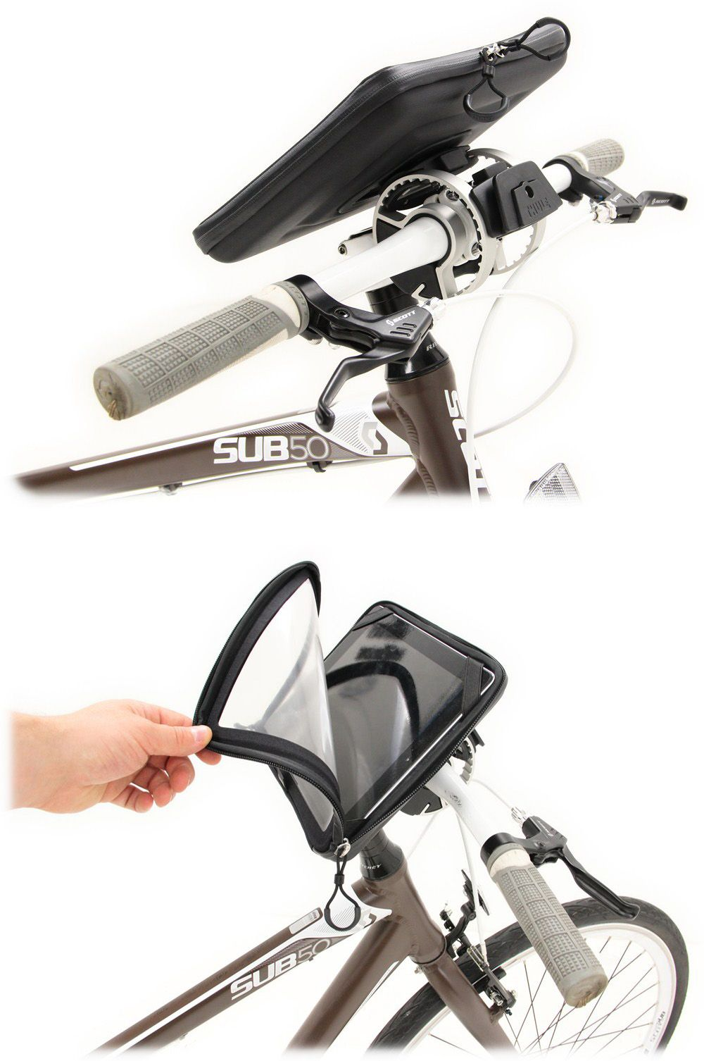 Thule Pack N Pedal Ipad Map Sleeve For Bikes Indoor Trainer