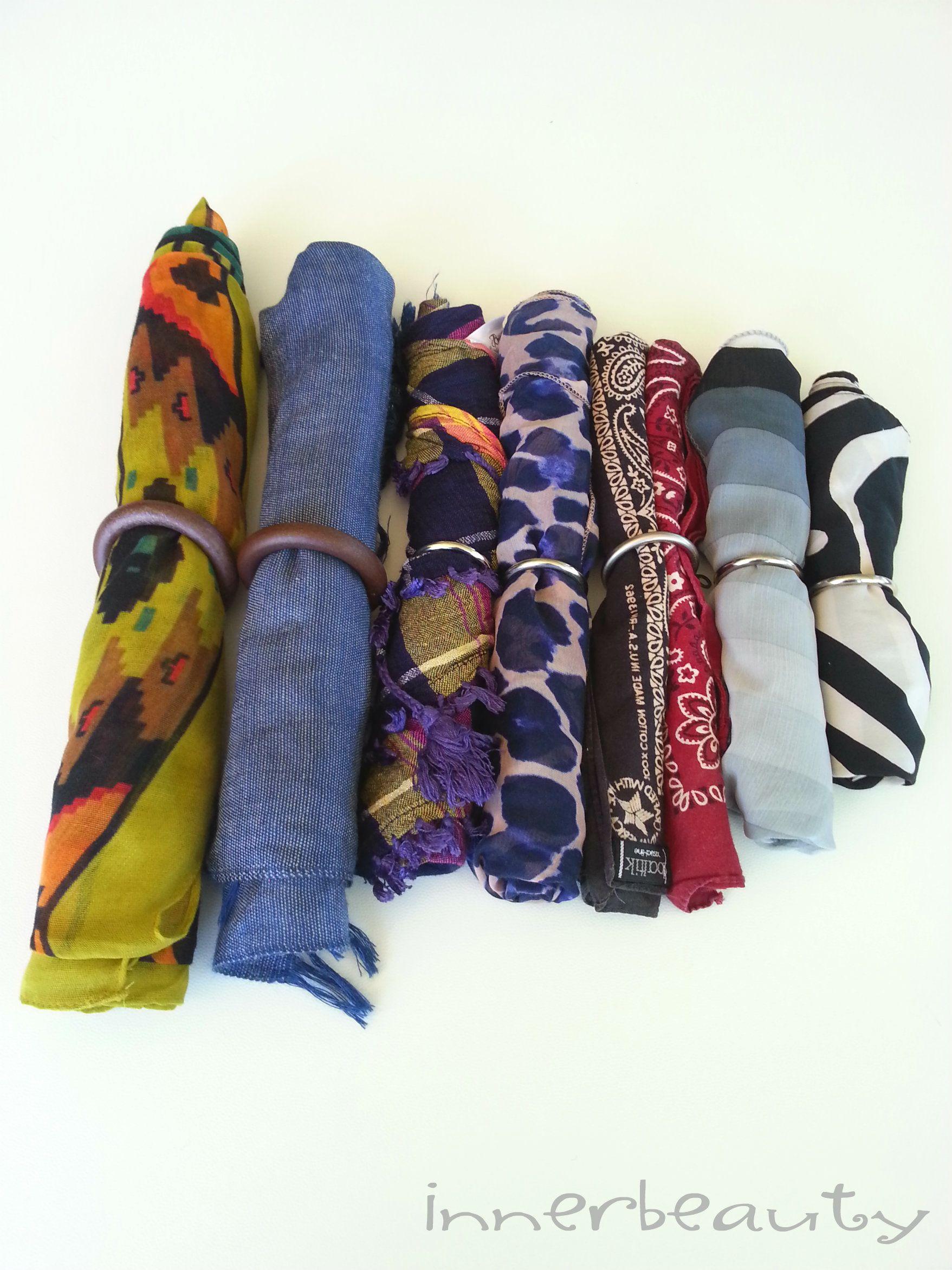 Tre semplicissime soluzioni per tenere in ordine foulard, orecchini e collane! ;) http://blog.pianetadonna.it/innerbeauty/riordinare-tre-soluzioni-facilissime/