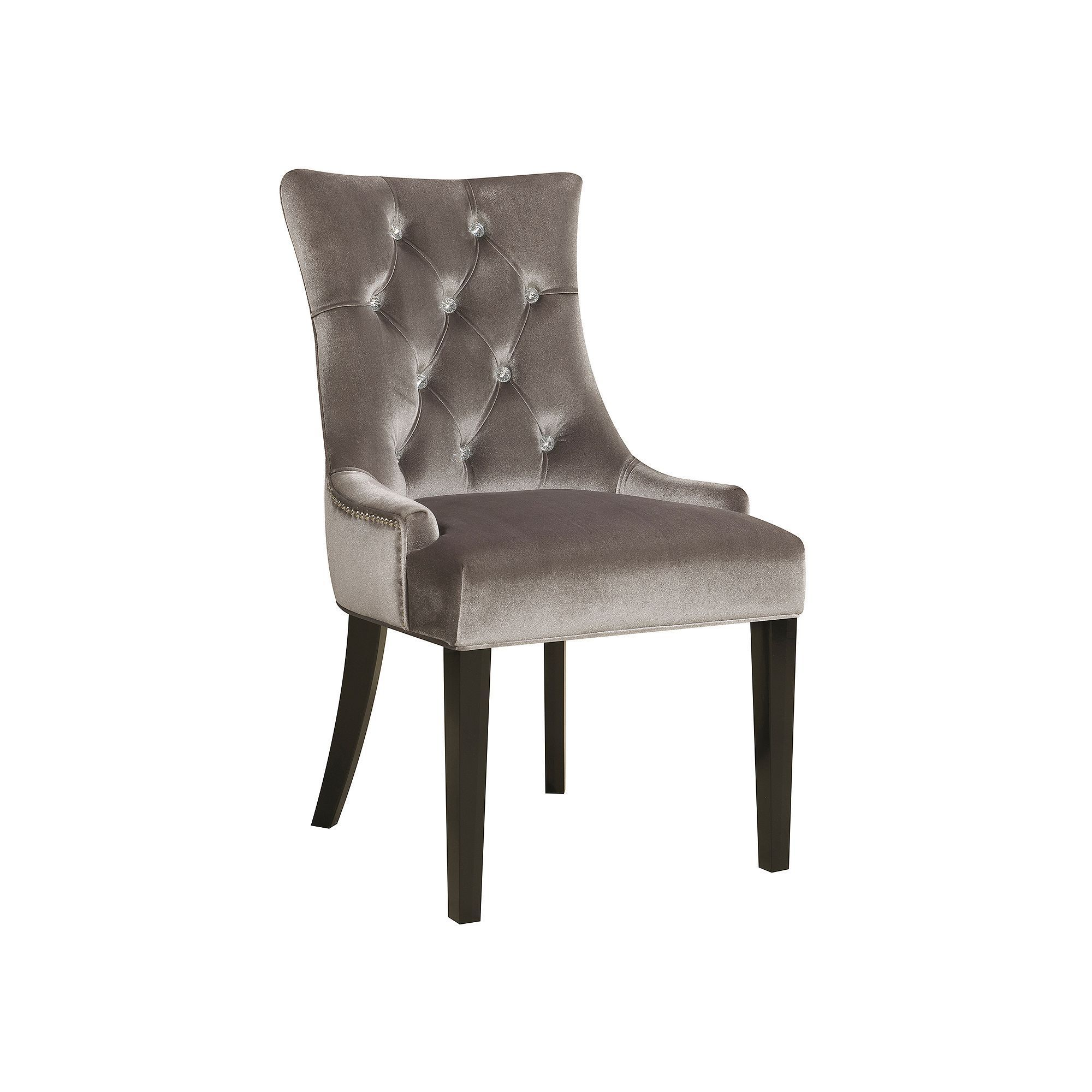 Pulaski Button Tufted Dining Chair Side Chairs Dining Dining Chairs