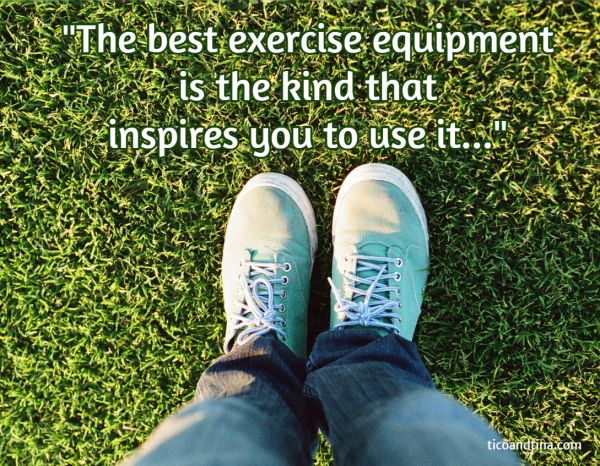exercise quote: The best exercise equipment is the kind that inspires you to use it... Space-Saving Home Gym Equipment that  Inspires You to Actually Use It | lose weight,  home workout routines, new years resolutions, get fit