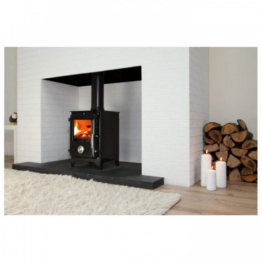 how to start a fire in a log burner