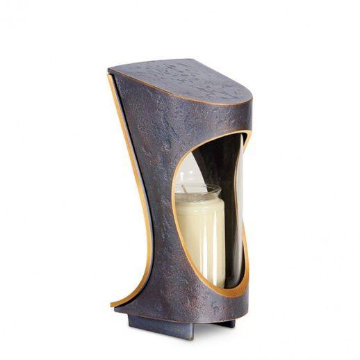 Moderne Grab Lampe »Foria« aus Bronze - Hochwertiger Bronzeguss & Handarbeit ✤ Jetzt versandkostenfrei kaufen bei ▷ Serafinum.de !