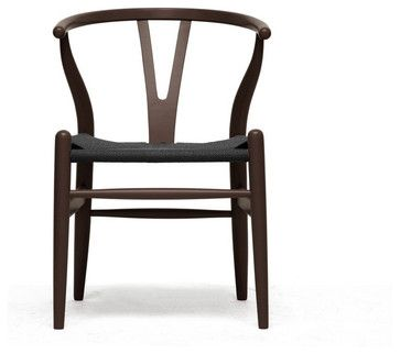 Hans Wegner style Wishbone Chair - contemporary - dining chairs and benches - Contemporary Furniture Warehouse