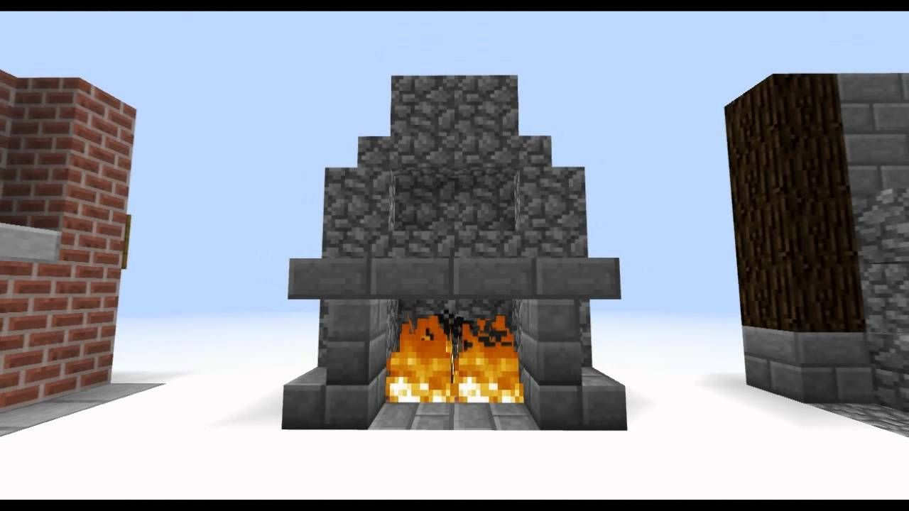 minecraft fireplace google search minecraft house ideas