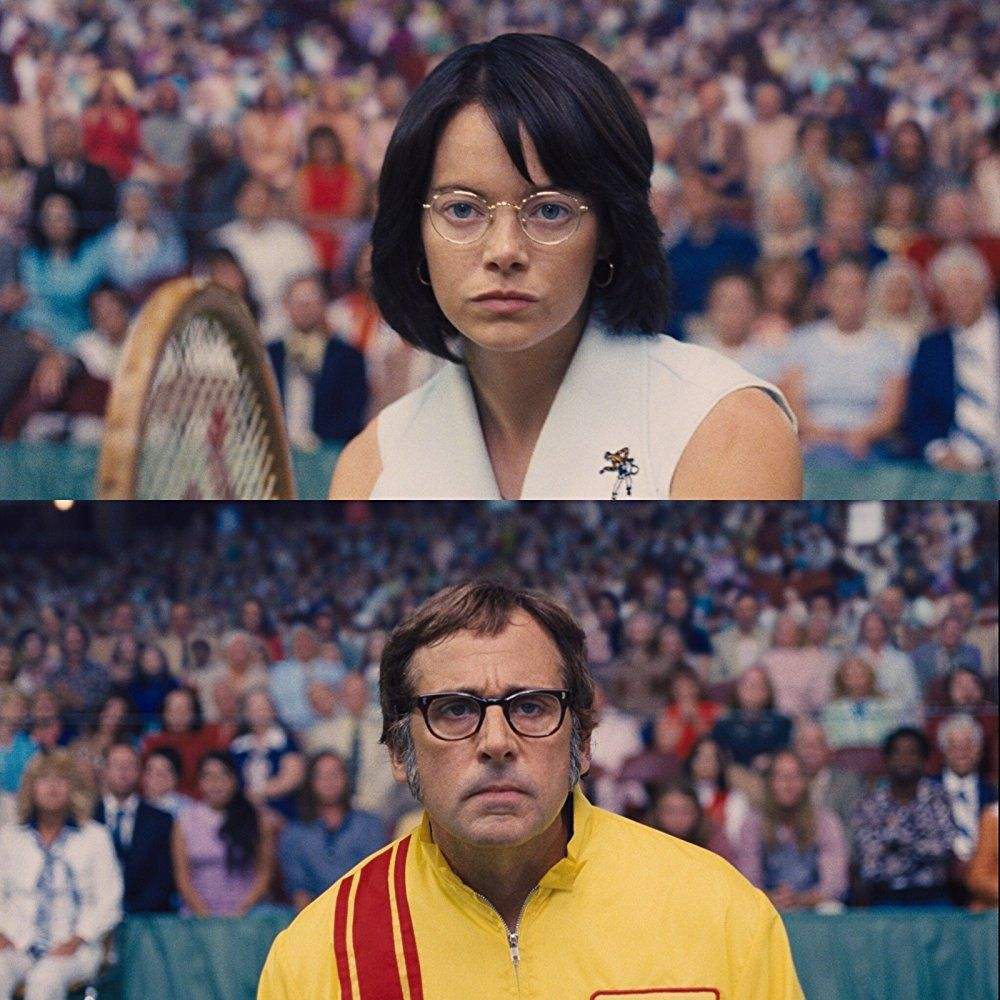 Directed By Jonathan Dayton Valerie Faris With Emma Stone Andrea Riseborough Steve Carell Elisabeth Shue The T Steve Carell Bobby Riggs Billie Jean King