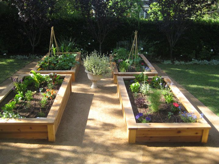 decomposed granite raised beds - Google Search