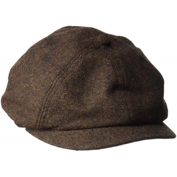 500f5e2dcd1 Goorin Bros. Men s Peter Baker Wool Blend IVY newsboy Hat - Brown ...