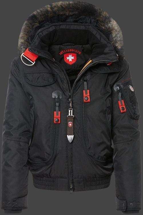 Wellensteyn Rescue Jacket, RainbowAirTec, Schwarz   Men's