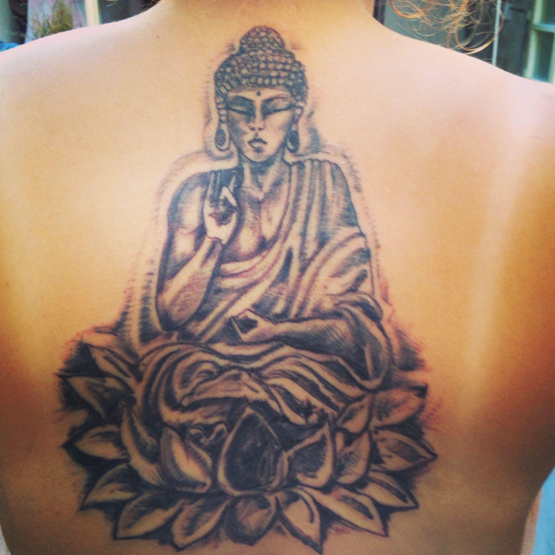 Buddha Tattoo Lotus Flower Buddha Tattoo Pinterest Buddha
