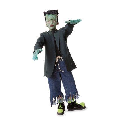 Halloween Ideas Activities Disney Family Frankenstein Costume Kids Homemade Halloween Costumes Boy Halloween Costumes