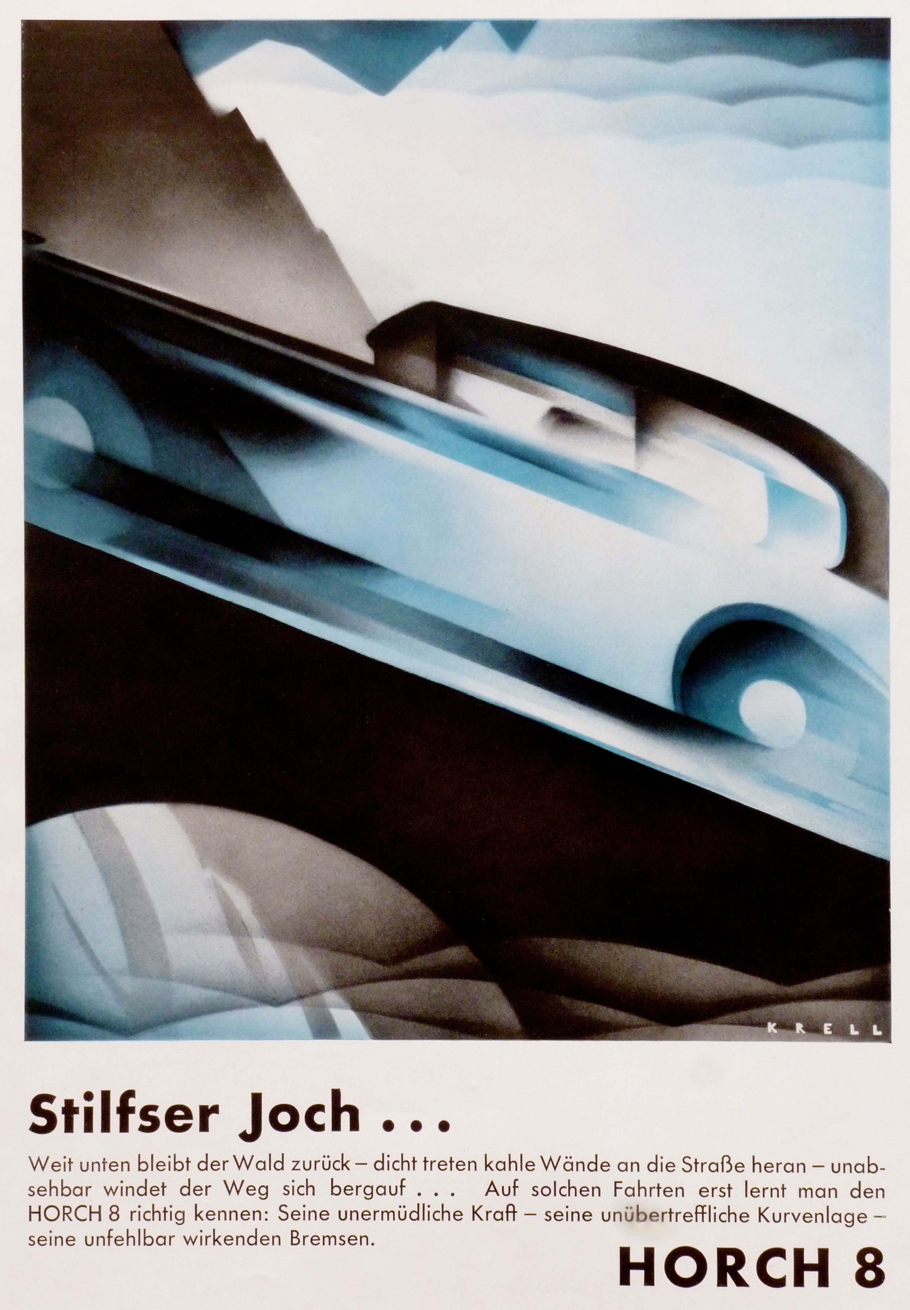 1956 ford country squire smcars net car blueprints forum - Cars Advertising Illustration Stilfser Koch By Horch 8
