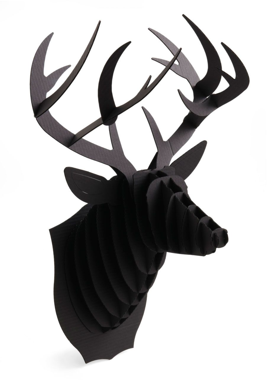 Questions And Antlers Buck Trophy. Are You A Crafting Character Who Enjoys  Getting Hands
