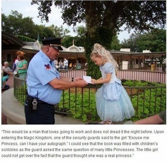 O segurança mais legal do mundo.