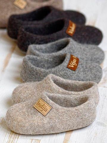 Nada como hacer pantuflas de lana a la medida de tus pies  6023ebaa45d