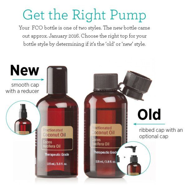 Pump Top for Fractionated Coconut Oil - FCO | doTERRA