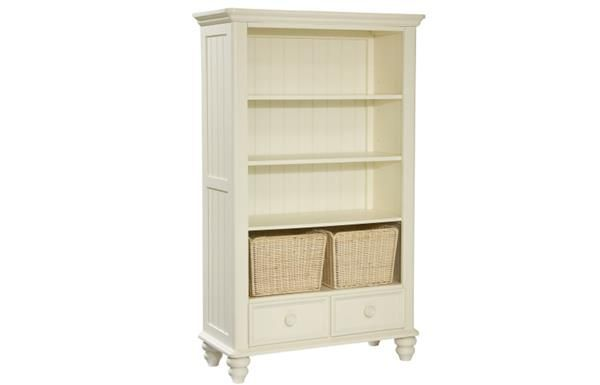 Cottage Off White Bookcase