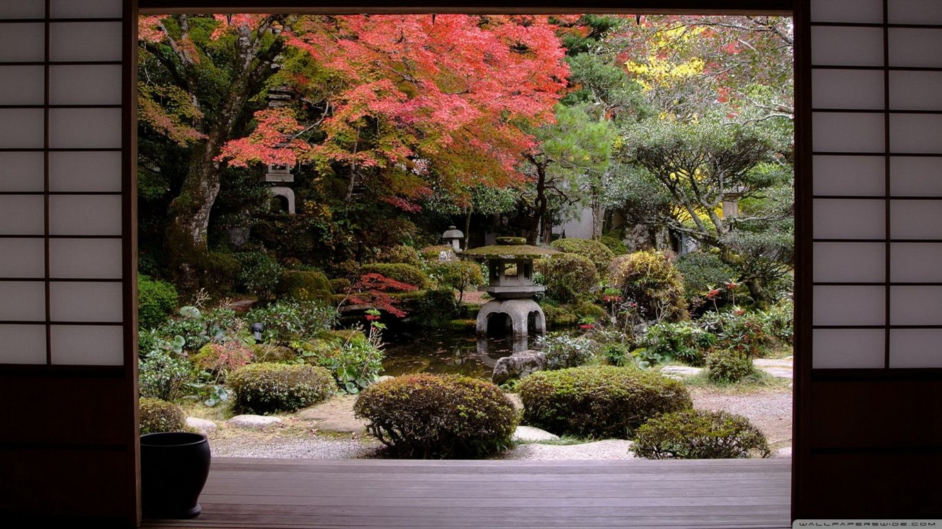 Traditional japanese gardens - Traditional Japanese Garden High Definition