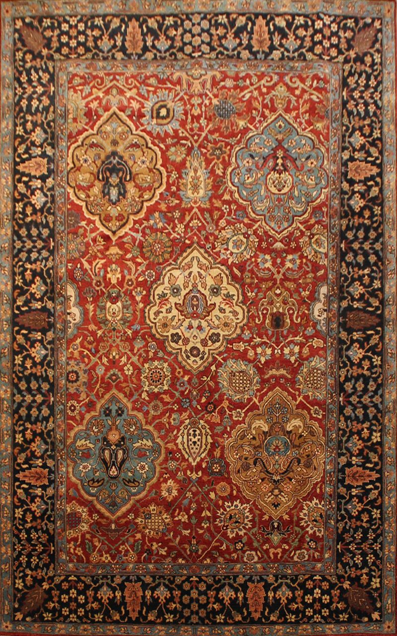 Kazak 15 13438 Shabahang Sons Antique Persian Carpet Rugs On Carpet Rugs