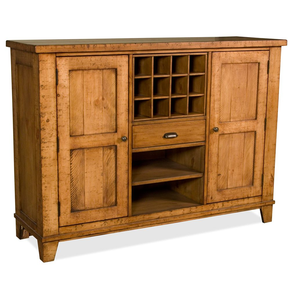 summerhill two door sideboard server by riverside furniture