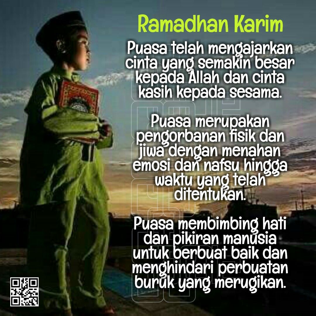 Ramadhan Karim Belajar, Kekasihku, Manusia