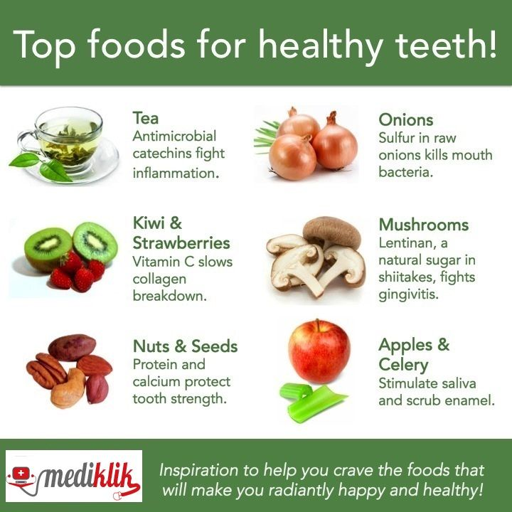 Do u know these top 6foods can make your teeth
