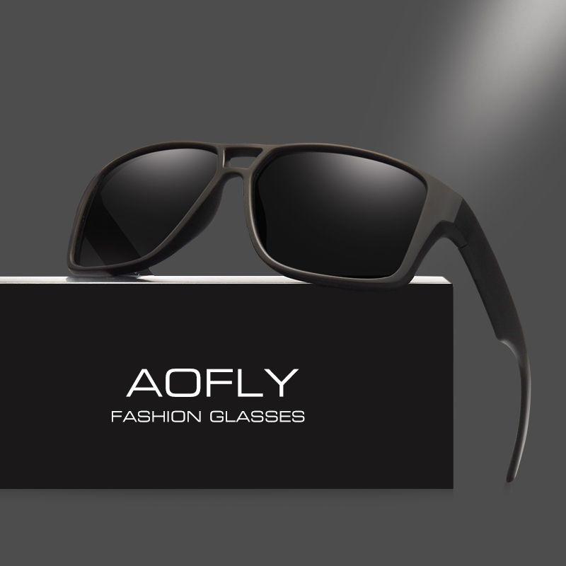 AOFLY Cool Design Da Marca Do Vintage óculos de Sol Masculino Óculos  Polarizados Óculos De Sol Dos Homens Polaroid lentes Goggles Shades Oculos  Masculino ... 5f07492c9f