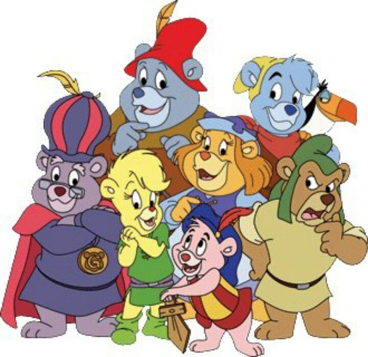 Gummi Bears - bouncing here and there and around the square, WE ARE