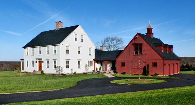 Deerfield Colonial Colonial Exterior Colonial House Colonial House Plans