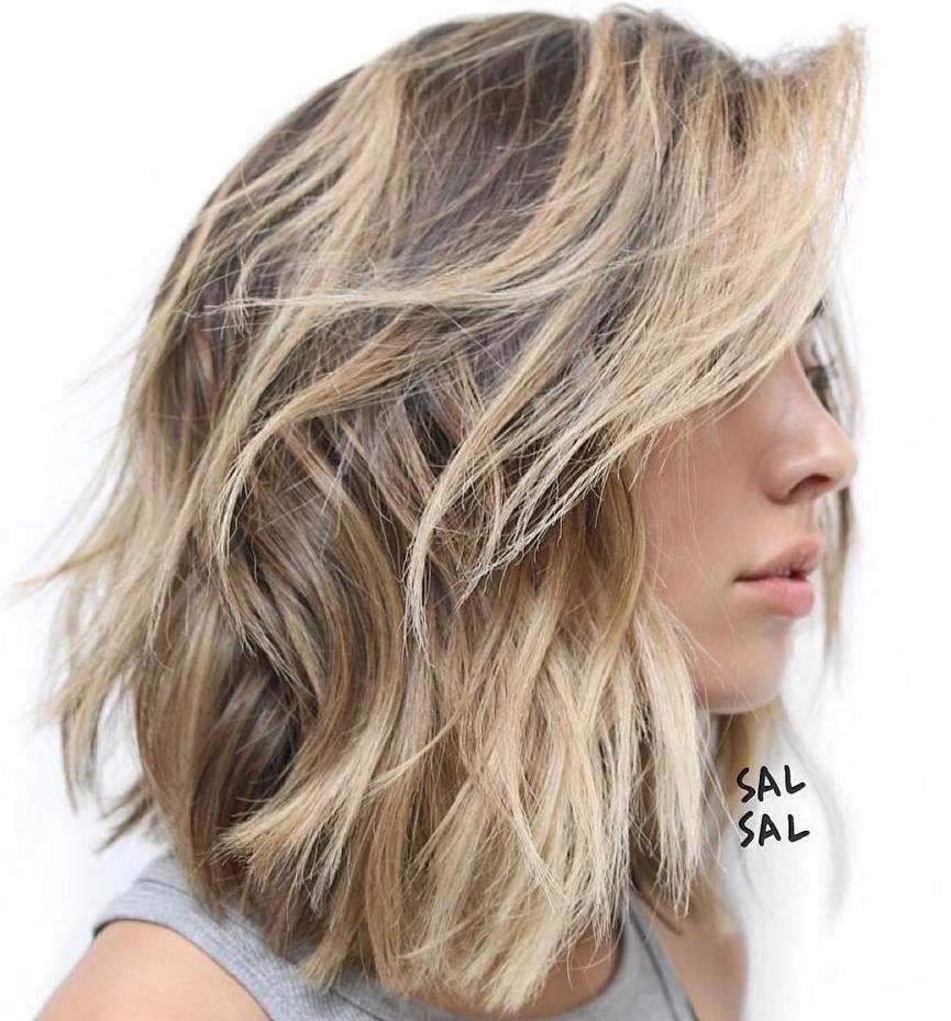 38+ Medium hairstyles for thick hair girl ideas